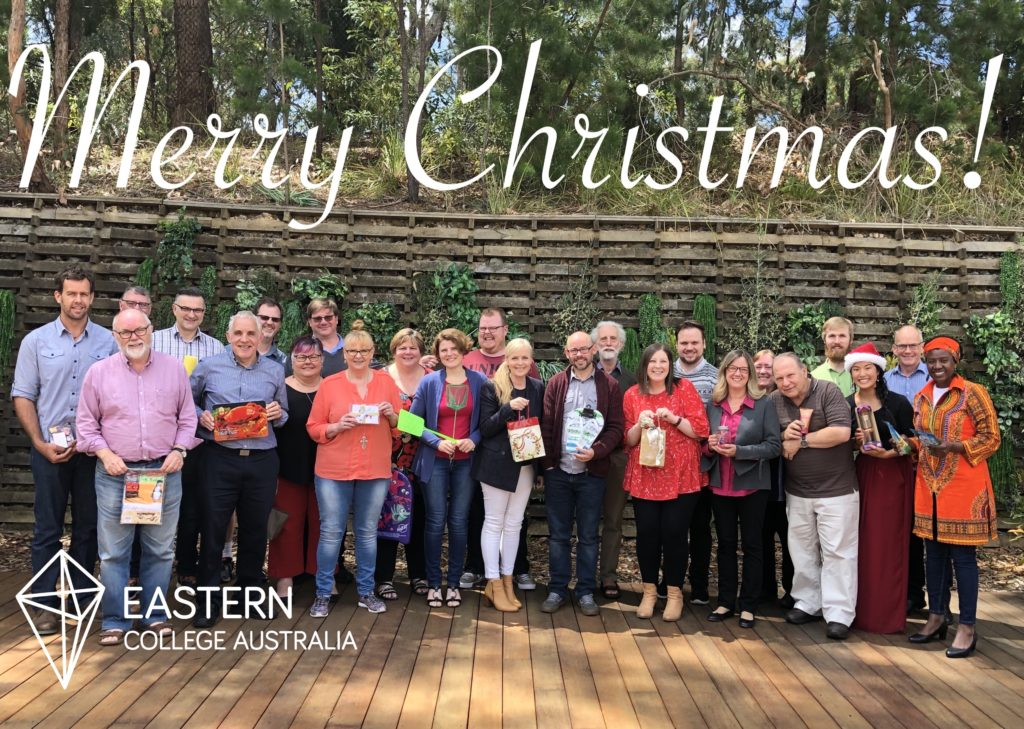 Merry Christmas from us all at Eastern!