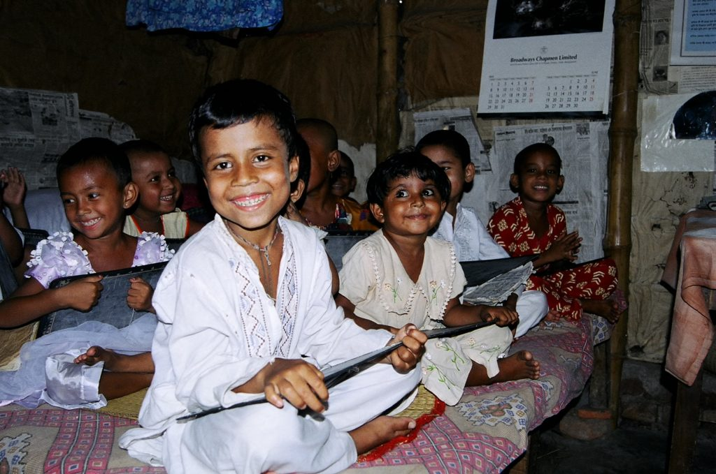Photo of children learning in dhaka